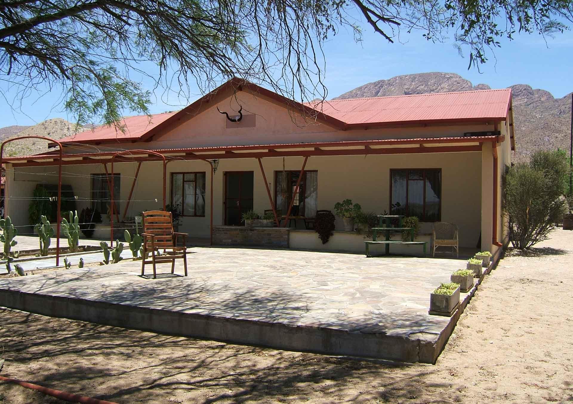 Farmhaus als Unterkunft